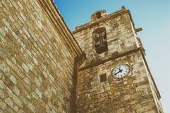 Το χωριό Ares del Maestre Στοκ Εικόνα