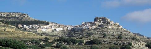 Το χωριό Ares del Maestre Στοκ Φωτογραφίες