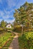 Το χωριό Behovo Στοκ Εικόνες
