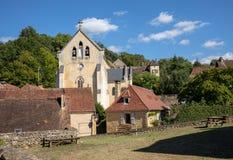 Το χωριό Carlux στην κοιλάδα Dordogne, Aquitaine, στοκ φωτογραφίες με δικαίωμα ελεύθερης χρήσης