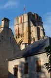 Το χωριό Carlux στην κοιλάδα Dordogne, Aquitaine στοκ εικόνα με δικαίωμα ελεύθερης χρήσης