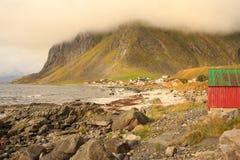 Το χωριό Vikten Στοκ φωτογραφία με δικαίωμα ελεύθερης χρήσης