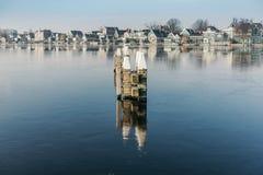 Το χωριό Zaanse Schans Στοκ φωτογραφίες με δικαίωμα ελεύθερης χρήσης