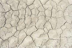 Το χώμα ράγισε από την ξηρασία και τον καψαλίζοντας ήλιο στοκ φωτογραφία με δικαίωμα ελεύθερης χρήσης