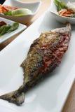 Το ψάρι Recheado είναι ένα τηγανισμένο ψάρι από Goa, Ινδία Στοκ Φωτογραφίες