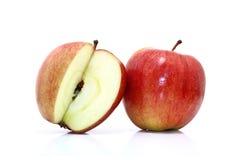 το ψαλίδισμα μήλων περιέχει το ψηφιακό λευκό μονοπατιών πλέγματος απεικόνισης κλίσης Στοκ φωτογραφία με δικαίωμα ελεύθερης χρήσης