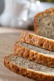 το ψημένο ψωμί χαρτονιών μπαν&a Στοκ φωτογραφία με δικαίωμα ελεύθερης χρήσης