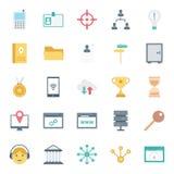 Το ψηφιακό μάρκετινγκ απομόνωσε τα διανυσματικά εικονίδια καθορισμένα μπορεί να τροποποιηθεί εύκολα ή να εκδώσει απεικόνιση αποθεμάτων