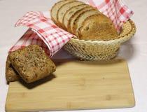 το ψωμί δακτυλογραφεί διάφορο Στοκ Εικόνα