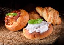το ψωμί δακτυλογραφεί διάφορο στοκ εικόνα με δικαίωμα ελεύθερης χρήσης