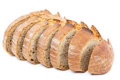 το ψωμί ανασκόπησης απομόνωσε το λευκό Στοκ εικόνα με δικαίωμα ελεύθερης χρήσης