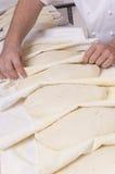 το ψωμί αρτοποιών κάνει Στοκ φωτογραφία με δικαίωμα ελεύθερης χρήσης