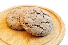 Το ψωμί εγχώριου ψησίματος Στοκ Εικόνες