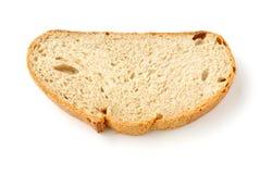 το ψωμί τεμαχίζει δύο Στοκ Εικόνες