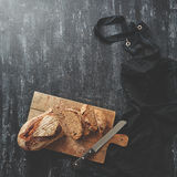 το ψωμί χαρτονιών τεμάχισε &xi Στοκ Εικόνες