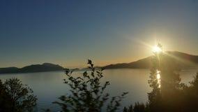 Το ωκεάνιο ηλιοβασίλεμα Στοκ εικόνα με δικαίωμα ελεύθερης χρήσης