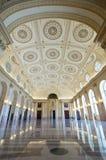 Το δωμάτιο-εθνικό μουσείο θρόνων του τέχνη-Βουκουρεστι'ου Ρουμανία Στοκ Εικόνες