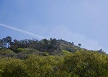 το 1995 ως καλλιεργητικό τοπίο Λισσαβώνα κληρονομιάς ημερομηνιών DA αιώνα κάστρων ixth δένει κοντά αναγνωρισμένο κόσμο όψης της Ο Στοκ Εικόνα