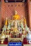 Το όμορφο άγαλμα του Βούδα σε Wat Mahawan Στοκ φωτογραφίες με δικαίωμα ελεύθερης χρήσης