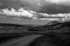 Το όμορφο βουνό Κα Å ¾ SnÄ›, Δημοκρατία της Τσεχίας Στοκ φωτογραφία με δικαίωμα ελεύθερης χρήσης