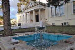Το όμορφο δημοτικό κτήριο της Πάφος στη Κύπρο στοκ φωτογραφία με δικαίωμα ελεύθερης χρήσης