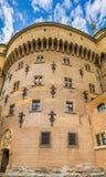 Το όμορφο και διάσημο Castle Bojnice στη Σλοβακία Στοκ εικόνα με δικαίωμα ελεύθερης χρήσης