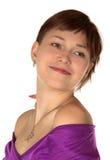 το όμορφο κορίτσι θέτει Στοκ Φωτογραφία