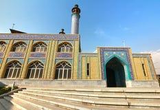 Το όμορφο μουσουλμανικό τέμενος Masjid Khorramshahr στην Τεχεράνη, Ιράν Στοκ εικόνες με δικαίωμα ελεύθερης χρήσης