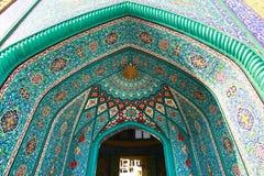 Το όμορφο μουσουλμανικό τέμενος Masjid Khorramshahr στην Τεχεράνη, Ιράν Στοκ φωτογραφία με δικαίωμα ελεύθερης χρήσης