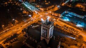 Το όμορφο πανόραμα του Lublin Στοκ εικόνες με δικαίωμα ελεύθερης χρήσης