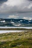 Το όμορφο τοπίο της Νορβηγίας στο καλοκαίρι Στοκ Εικόνες