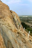 Το όμορφο τοπίο του sittanavasal ναού σπηλιών σύνθετου στοκ φωτογραφία με δικαίωμα ελεύθερης χρήσης