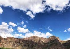 Το όμορφο φυσικό τοπίο Qinghai, που βρίσκεται στα βορειοδυτικά της Κίνας στοκ εικόνες με δικαίωμα ελεύθερης χρήσης
