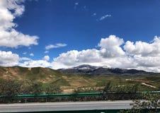 Το όμορφο φυσικό τοπίο Qinghai, που βρίσκεται στα βορειοδυτικά της Κίνας στοκ φωτογραφίες