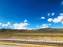 Το όμορφο φυσικό τοπίο Qinghai, που βρίσκεται στα βορειοδυτικά της Κίνας στοκ εικόνα με δικαίωμα ελεύθερης χρήσης