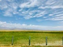 Το όμορφο φυσικό τοπίο Qinghai, που βρίσκεται στα βορειοδυτικά της Κίνας στοκ εικόνες