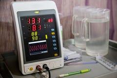 Το όργανο ελέγχου ποσοστού καρδιών Ζωτικής σημασίας όργανο ελέγχου σημαδιών όργανα μέτρησης ποσοστού καρδιών Στοκ φωτογραφία με δικαίωμα ελεύθερης χρήσης