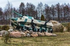 Το όχημα αγώνα της δύναμης προσγείωσης των οπλισμένων δυνάμεων του τ Στοκ Εικόνες