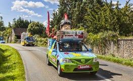 Το όχημα του περιοδικού Ajourd'hui Στοκ Εικόνες