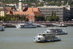 Το ύδωρ εμφανίζει, Βουδαπέστη, Ουγγαρία Στοκ Φωτογραφίες