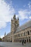 Το ύφασμα αίθουσα-Ypres, Βέλγιο Στοκ εικόνα με δικαίωμα ελεύθερης χρήσης