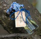 το δώρο καρτών που απομονώνεται άσπρο ευχαριστεί εσείς Στοκ φωτογραφία με δικαίωμα ελεύθερης χρήσης