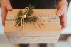 Το δώρο παρουσιάζει Στοκ Εικόνα