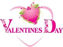 το διακοσμητικό στοιχείο ανθίζει το ροζ καρδιών Στοκ Εικόνα