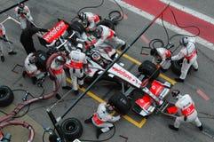 το 2007 Alonso f1 Fernando Στοκ εικόνα με δικαίωμα ελεύθερης χρήσης