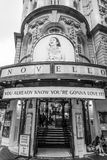 Το ABBA μουσικό Mamma Mia στο θέατρο Novello στο Λονδίνο - το ΛΟΝΔΊΝΟ - τη ΜΕΓΆΛΗ ΒΡΕΤΑΝΊΑ - 19 Σεπτεμβρίου 2016 Στοκ Εικόνες