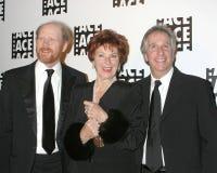 Ron Howard, Marion Ross, Henry Winkler στοκ φωτογραφία με δικαίωμα ελεύθερης χρήσης