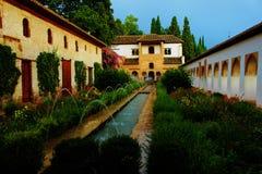 Το Alhambra παλάτι Γρανάδα στοκ εικόνες