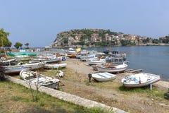 Το Amasra είναι ένα μικρό και γοητευτικό θέρετρο στην ακτή Μαύρης Θάλασσας της Τουρκίας στοκ εικόνες