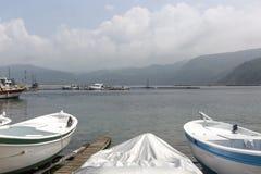 Το Amasra είναι ένα μικρό και γοητευτικό θέρετρο στην ακτή Μαύρης Θάλασσας της Τουρκίας στοκ φωτογραφία